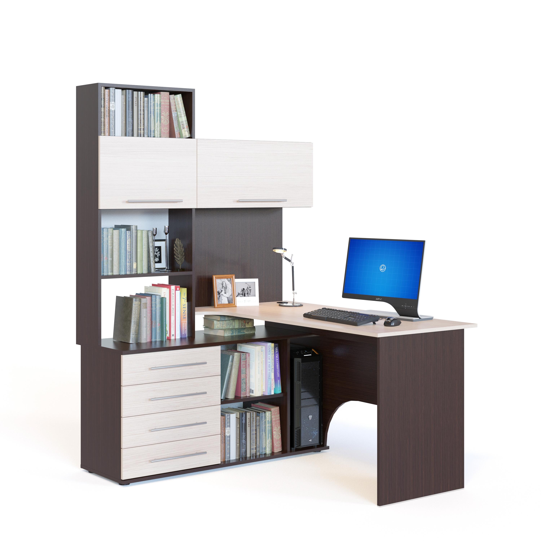 Компьютерный стол сокол кст-14 (левый) столмаг.